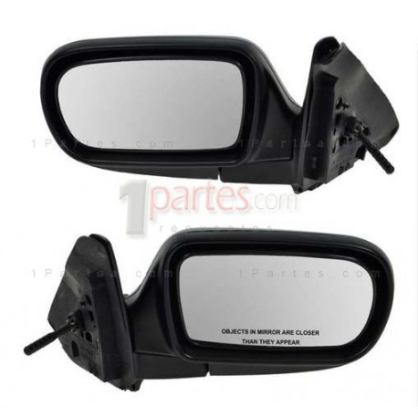 Tipo de repuesto de espejo espejo vidrio Mazda 323 F BJ de 1998-2003 L ode R asph